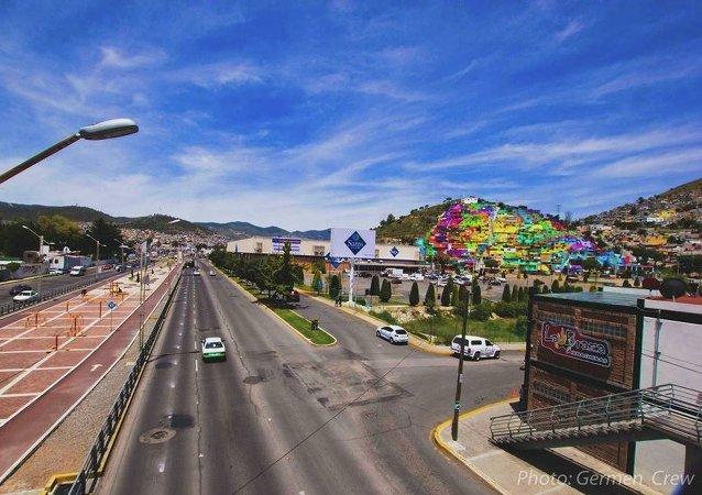 Palmitas neighborhood of Pachuca, Mexico
