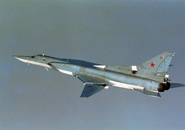 Russian TU-22M3 Backfire bomber