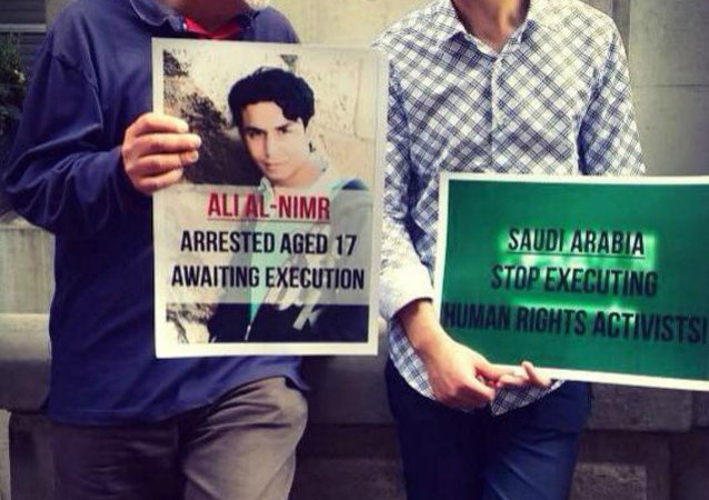 20-year-old Ali Mohammed al-Nimr from Saudi Arabia may soon face death by crucifixion after the court rejected his final appeal