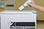 Elections Canada Voting Box