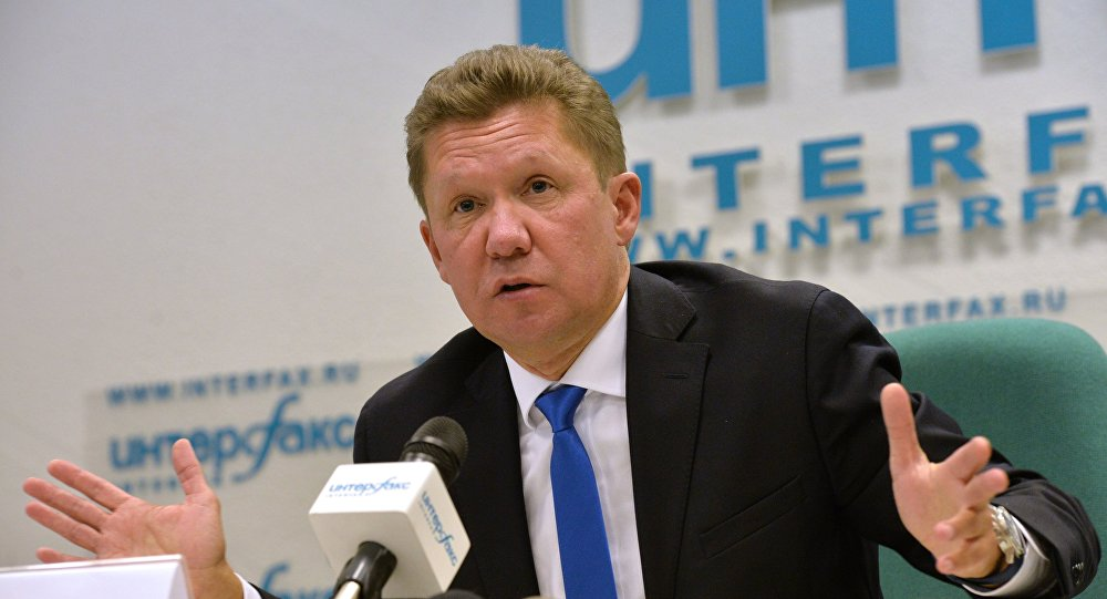 News conference by Energy Minister Alexander Novak and Gazprom CEO Alexei Miller