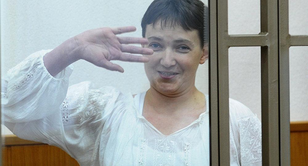 A hearing of the high-profile case against an ex-Ukrainian military pilot Nadezhda Savchenko