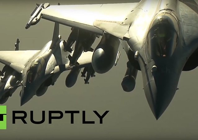 Syria: French Defense Ministry releases footage of airstrikes against ISIS in Syria
