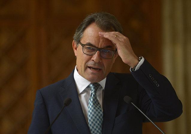 Catalonia's regional president Artur Mas