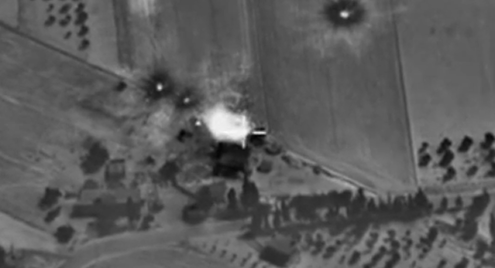 Russian Airstrikes Destroy ISIL HQ in Syria