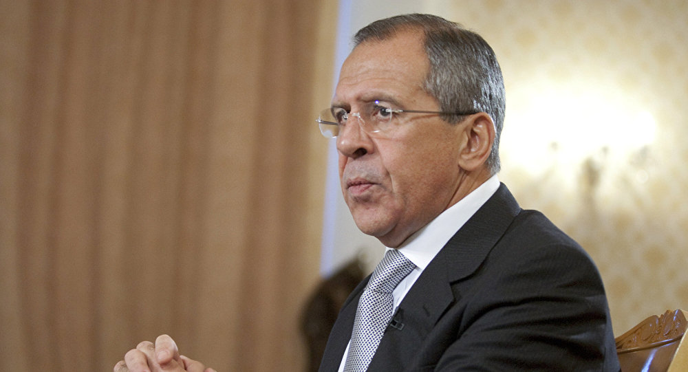 Interview of Russian Foreign Minister Sergei Lavrov