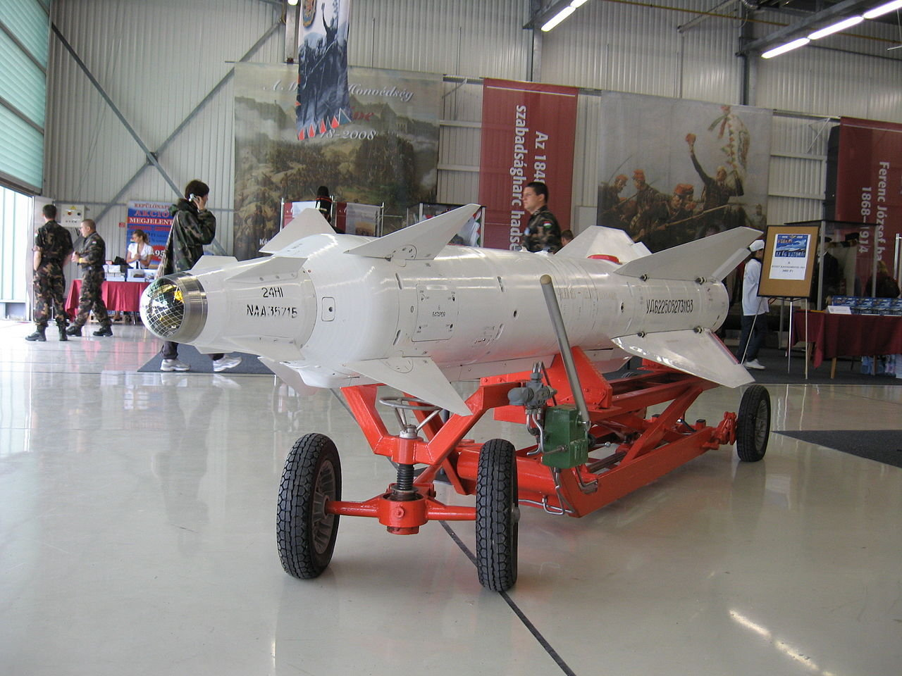 Training version of the Kh-29L laser guided air to surface missile