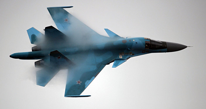 Su-34 strike fighter
