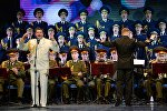 Performance of Alexandrov ensemble at Winter Arts Festival in Sochi