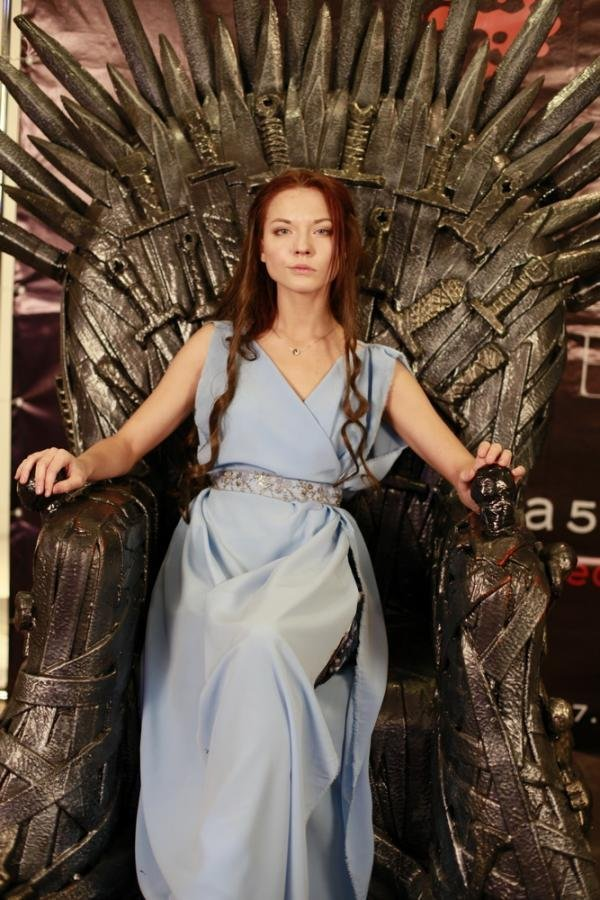 Darya was cast as Margaery Tyrell after winning 2,216 votes