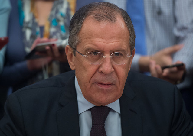 Russian Foreign Minister Sergei Lavrov meets with Sudanese Vice President Hassabu Abdalrahman