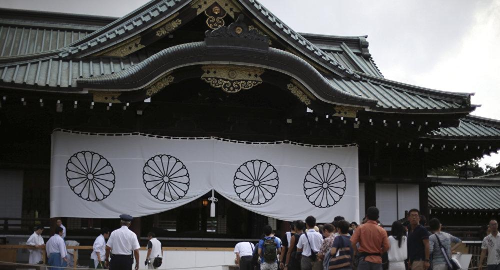 Yasukuni Shrine in Tokyo