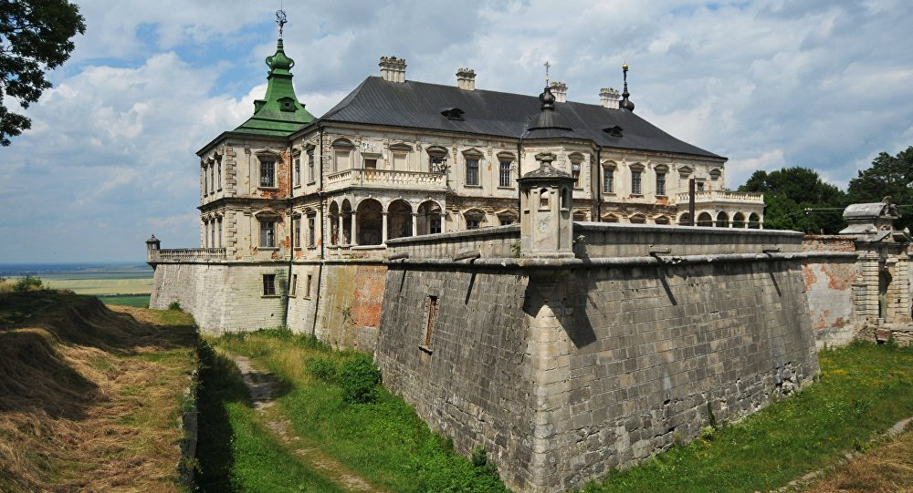 Pidhirtsi Castle in Lviv Region