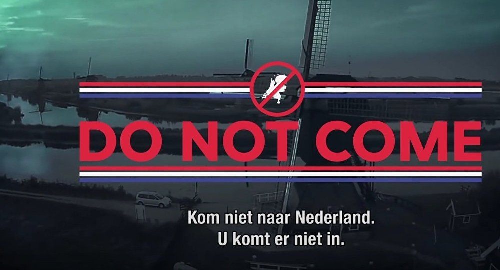 A Dutch satirical tv show has responded to the Danish government's ads urging would-be refugees not to come to Denmark, saying that refugees bound for the Netherlands should settle in Denmark instead.