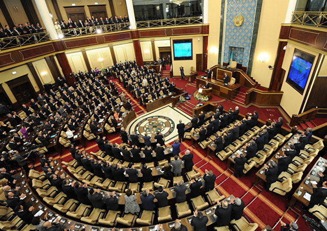 Kazakhstan Parliament. File photo