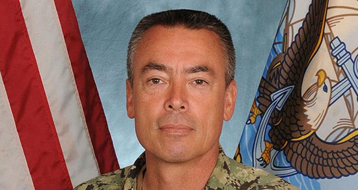 US Navy Rear Admiral Brian Losey