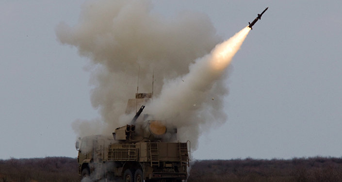 Videos: Syrian Air Defenses Repel 'Aggression' in Sky Over Homs Governorate, State Media Report