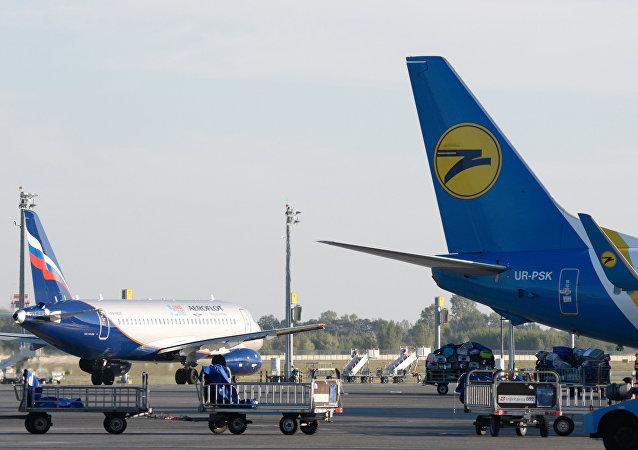 Aircraft at Boryspil Airport. File photo