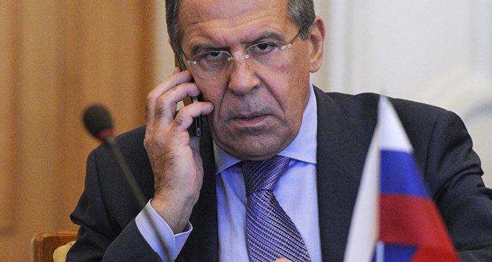 Lavrov Tells Raab Important That London Rejects Provocative Rhetoric Against Russia
