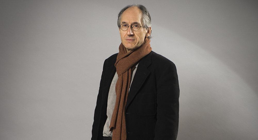 Editor in chief of French satirical weekly Charlie Hebdo Gerard Briard