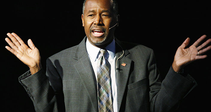 Republican presidential candidate Ben Carson