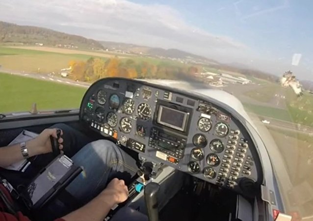 Pilot captures insanely close call with eagle