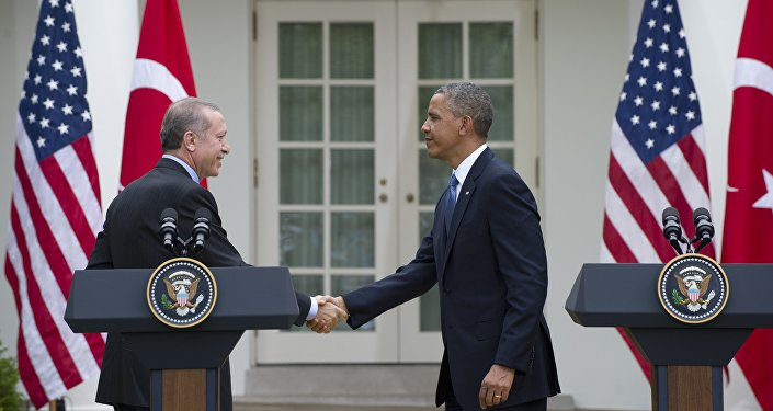 US President Barack Obama and Turkey's President Recep Tayyip Erdogan