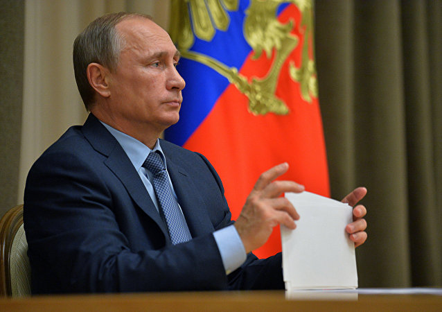 President Putin holds meeting on Russia's priority space activities