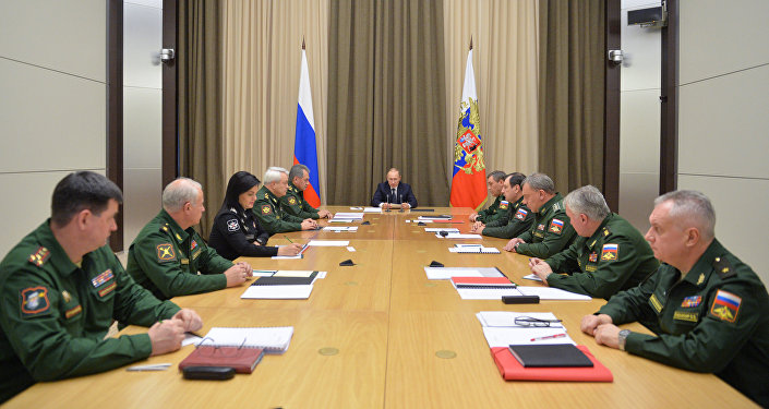 President Putin chairs meeting on Russian armed forces development