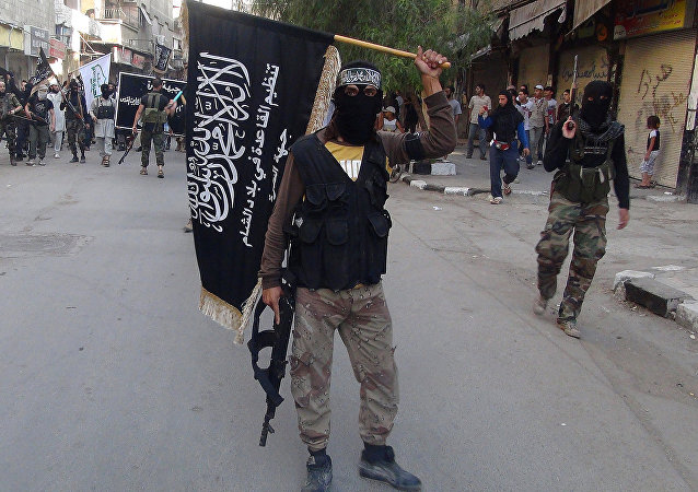 Islamic fighters from the al-Qaida group in the Levant, Al-Nusra Front