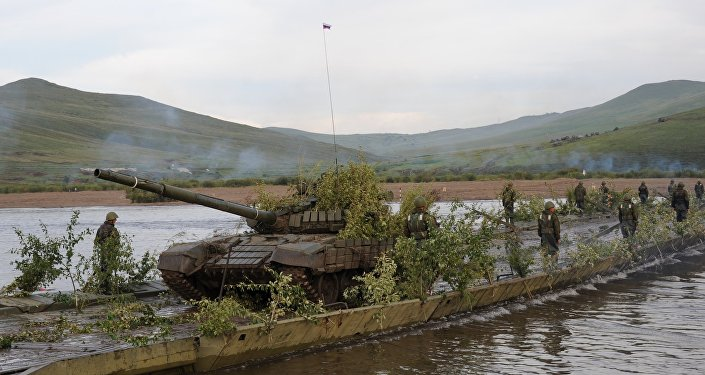 Russian-Mongolian military exercises Selenga-2015 in Trans-Baikal Territory
