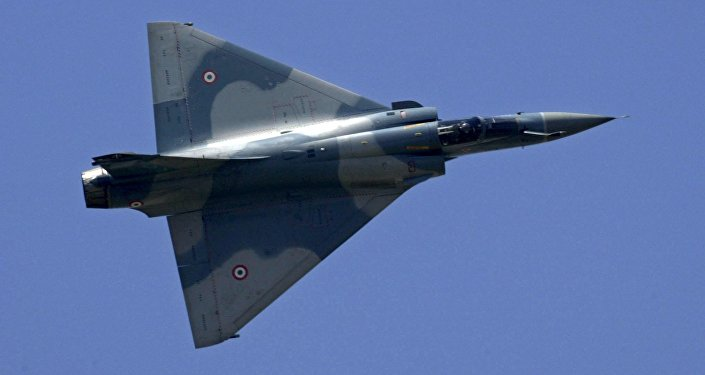 French fighter Dassault Mirage 2000
