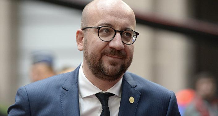 Belgian Prime Minister Charles Michel.