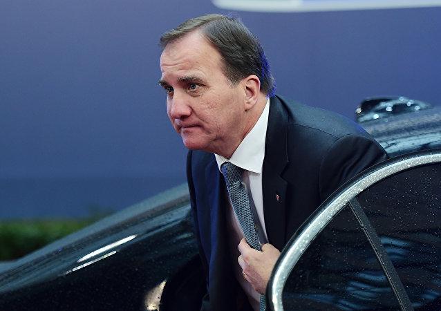 Swedish Prime Minister Stefan Loefven.