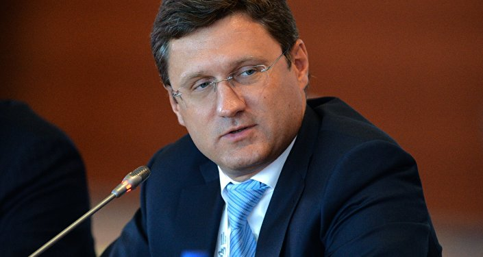 Energy Minister Alexander Novak.