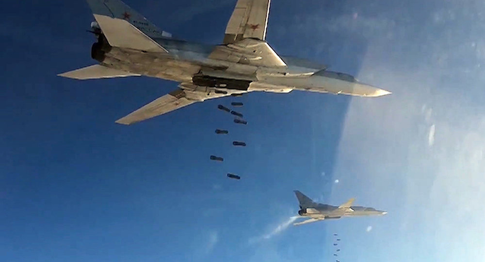 Tu-22 strategic bombers of Russia's Aerospace Defense Forces set to hit ISIS targets in Syria