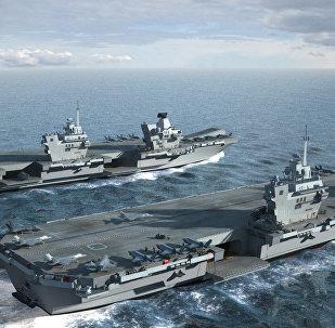 HMS Queen Elizabeth & HMS Prince of Wales