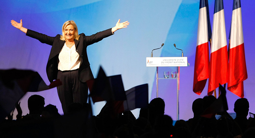 France's far-right National Front president Marine Le Pen