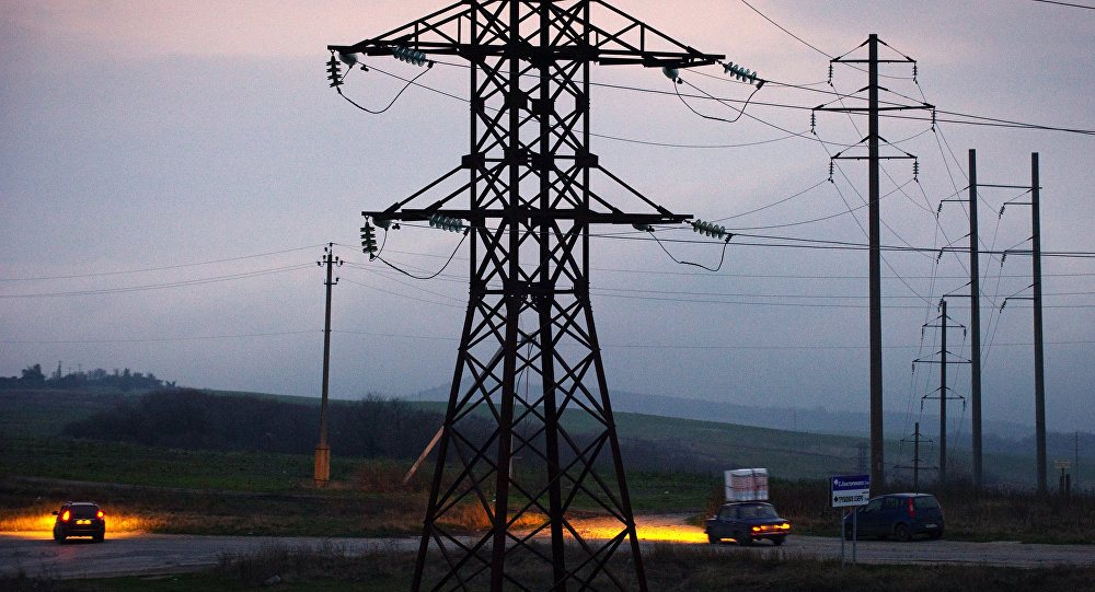 Energy supply situation in Crimea