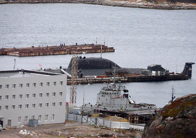 Russian nuclear Gepard (Cheetah) submarine