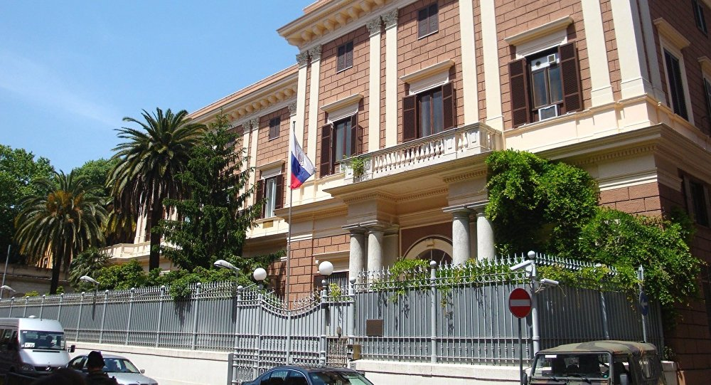 Embassy In Italy Russian Embassy - Hot Porno-1572