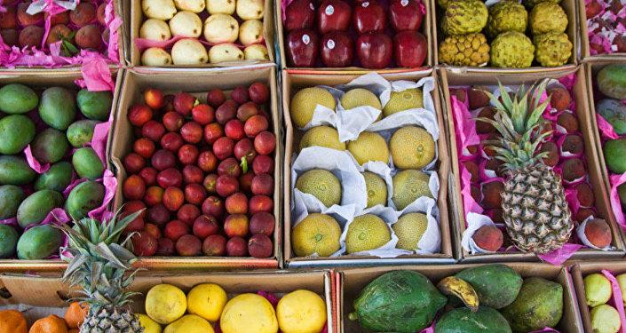 Fresh fruits from Egypt