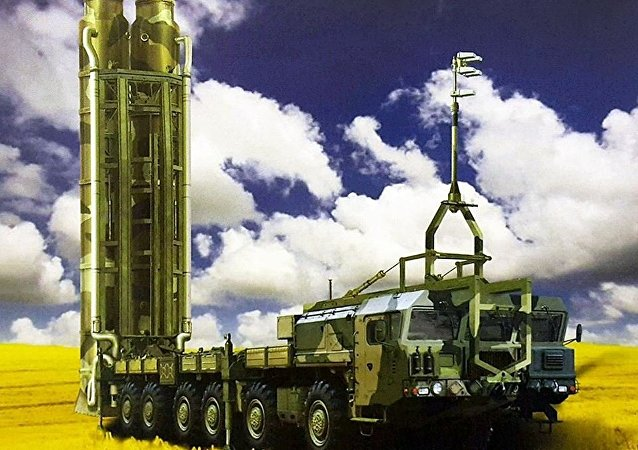 Image of the Nudol anti-satellite missile system posted on a Russian website.