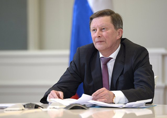 Chief of Staff of Presidential Executive Office Sergei Ivanov