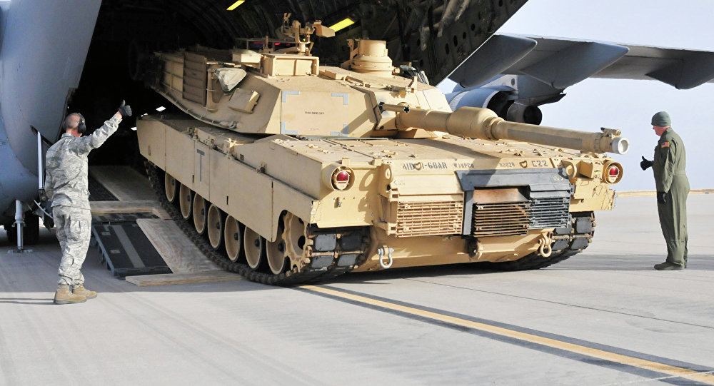 US Approves $1 15Bln Sale for Tanks, Heavy Gear to Saudi