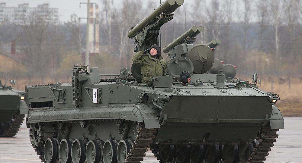 Khrizantema-S supersonic anti-tank missile