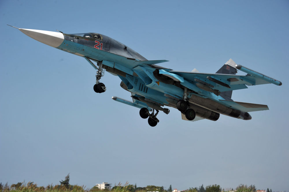 Winged Death: Su-34 and Su-35 Russian Military Aircraft