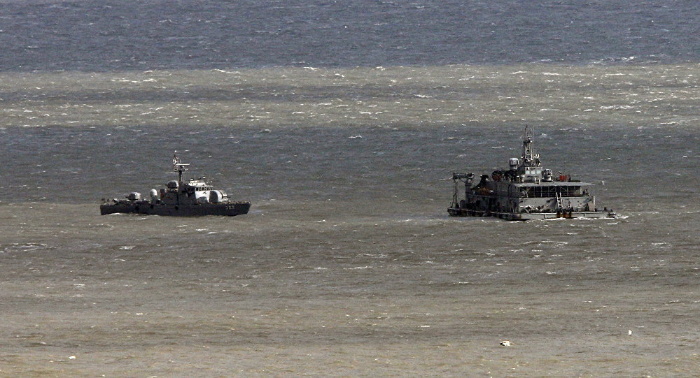 South Korea's navy ships patrol near Yeonpyeong Island, South Korea, Wednesday, Nov. 23, 2011. South Korea marked the first anniversary of North Korea's island attack Wednesday
