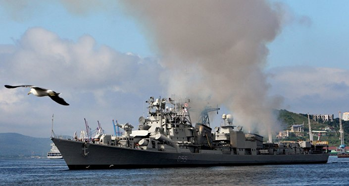 Warships of Indian Navy welcomed in Vladivostok
