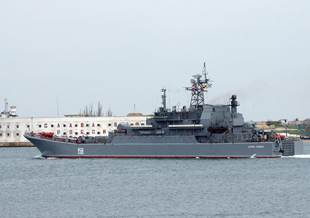 Large class landing ship Caesar Kunikov. File photo